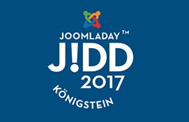 Joomladay 2917 in Königstein Logo